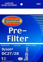 Dyson Dc28 Animal, Dc27 Total Clean Washable And Reusable Pre Filter