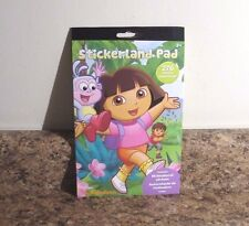 Item 5 Nickelodeon Dora The Explorer Stickerland Book 276 Stickers NEW