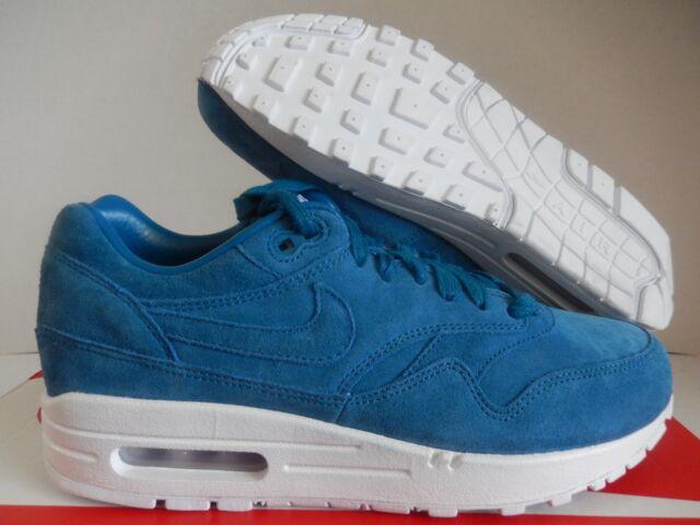 quality design 220cd 2d722 Nike Air Max 1 Premium ID Sea Blue Sz 6.5 Mens/womens Sz 8 829357 ...