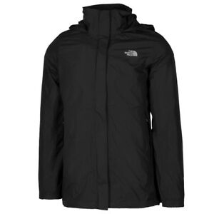 Face Aire Parka North Chaqueta Rompevientos Libre Black Resolve The Lluvia Mujer pXq5xwx