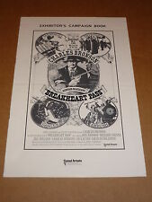 """Breakheart Pass"" (Charles Bronson/Ben Johnson) 1975 UK Campaign Book"
