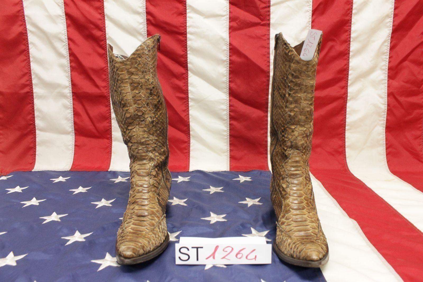 Stivali boots Gaia D'este (Cod.ST1264) N.37 cowboy camperos western donna