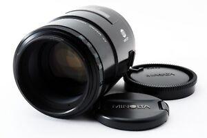 N-MINT-Minolta-AF-100mm-f-2-8-Lens-for-MInolta-Sony-A-Mount-from-Japan