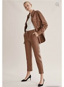 COUNTRY-ROAD-TAN-LEATHER-PANTS-S-AUS-6-CURRENT-SEASON-SOLD-OUT-RRP-699