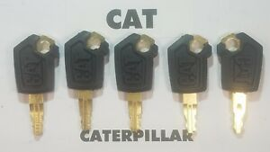 5-Master-Cat-Keys-Caterpillar-Heavy-Equipment-Ignition-Key-5P8500-Excavator