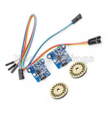 Photoelectric Encoders Kit HC-020K Double Speed Measuring Sensor Module