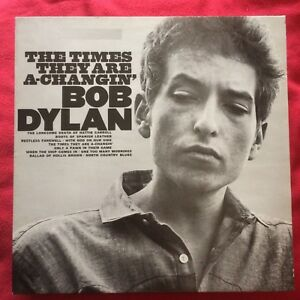 BOB-DYLAN-THE-TIMES-ARE-A-CHANGIN-039-reissue-vinyl-LP-vinile-M-M