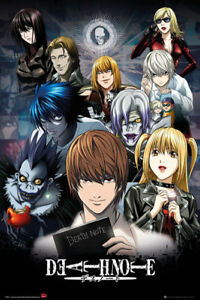 Death Note Collage Anime Maxi Poster Print 61x915cm  24x36 inches - Sheffield, United Kingdom - Death Note Collage Anime Maxi Poster Print 61x915cm  24x36 inches - Sheffield, United Kingdom