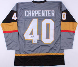 reputable site cc17b 53be0 Details about Ryan Carpenter Signed Golden Knights Jersey (Beckett) Las  Vegas Expansion Team