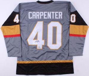 reputable site 2df94 5b0de Details about Ryan Carpenter Signed Golden Knights Jersey (Beckett) Las  Vegas Expansion Team