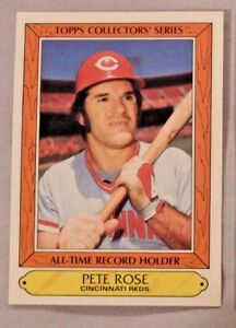 Details About 1985 Topps All Time Record Holder Pete Rose Cincinnati Reds Baseball Card