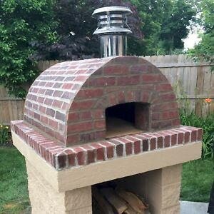 Image Is Loading Wood Fired Oven Outdoor Pizza Build A