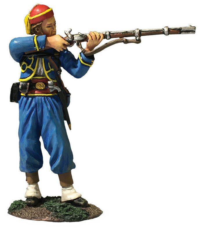 BRITAINS 31282 - American Civil War - 146th NY Zouave Standing Firing No.1