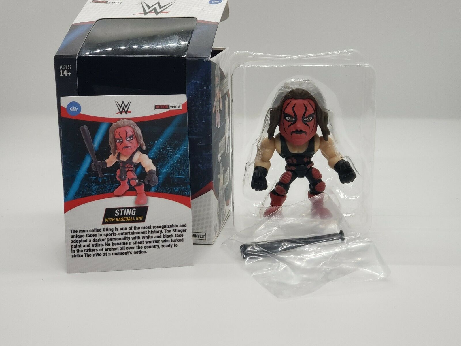 The Loyal Subjects TLS WWE  rosso Sting w Bat CHASE cifra  196, Rare