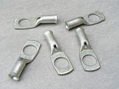 Auprotec Cosse tubulaire 16 mm/² Connecteur de c/âble SC non isol/é en cuivre /étam/é Trou /Ø M6