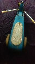 ANCIEN cyclo-rameur métal 1960,jouet,solex f4,usine,vintage,atelier,industriel