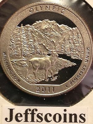 "National Park ATB Quarter UNC Roll of 40 /"" P /"" Mint 2011 # 8 Olympic WA"