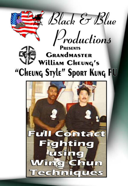 Full Contact kickboxing Wing Chun Fighting with William Cheung Instructional