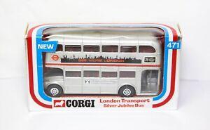 Corgi-471-Routemaster-Bus-del-Jubileo-de-Plata-transportador-de-Londres-en-su-caja-original
