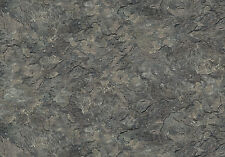 Dark Gray Stone Texture Fabric, Naturescapes, Northcott, 21385-96 (By 1/2 yard)