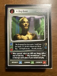 STAR TREK CCG THE BORG COMMON AND UNCOMMON SET