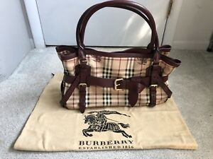 Image is loading AUTHENTIC-BURBERRY-HAYMARKET-DEEP-RED-XL-BELT-BELTED- edf75249456d3