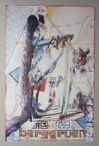 Horst-Janssen-Plakat-Galerie-Berggruen-1981-handsigniert