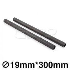 """CGPro 12""""/300mm High Strength Carbon Fibre Rods (Pair) for 19mm Support System"""