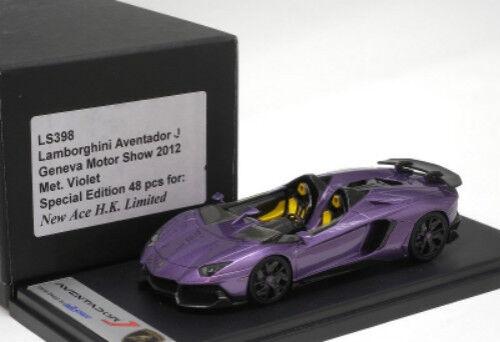 Hay más marcas de productos de alta calidad. Lamborghini Aventador J Geneva Geneva Geneva Motor Show 2012 LookSmart Modelo 1 43  LS398  Mercancía de alta calidad y servicio conveniente y honesto.