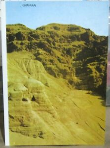 Israel Qumran discovery of the Dead Sea Scrolls - unposted