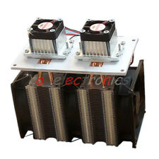 144W Dual-chip Semiconductor Refrigeration Peltier Air Cooling Dehumidification