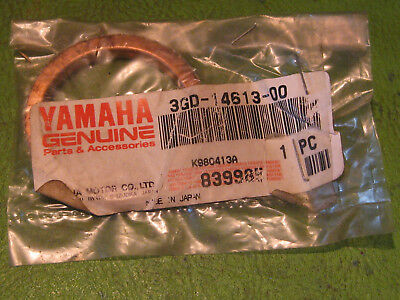 Yamaha 90430-38054-00 Gasket Exhaust Pipe; New # 3GD-14613-00-00 Made by Yamaha