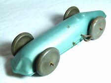 RARE ANTIQUE VINTAGE TIN TOY CHAD VALLEY RACE RACING CAR LAND SPEED RECORD