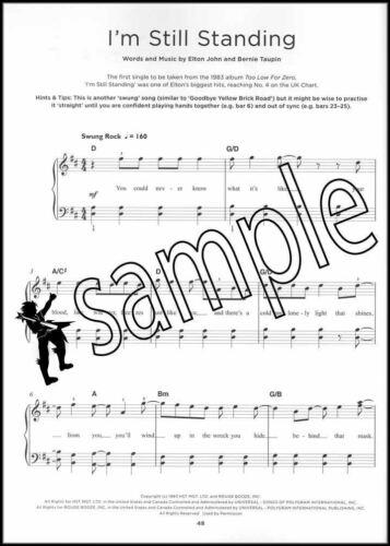 Really Easy Piano 40 Elton John Songs Music Book Rocket Man SAME DAY DISPATCH