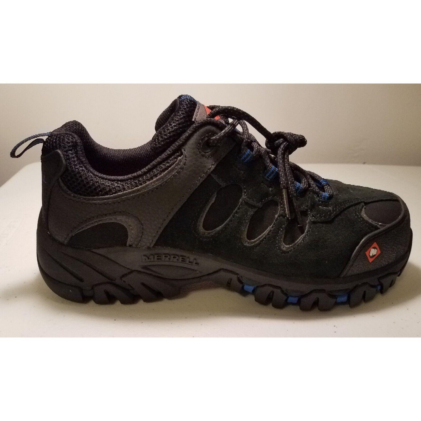 Merrell work shoe men size 7 Ridgepass Bolt Comp Toe black