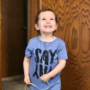 Pick Size Toddler Boys/' Well Worn Say Yay Short Sleeve T-Shirt  Blue