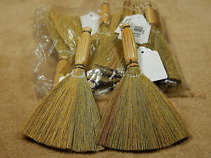 6 straw fan style witches baguio brooms fall halloween for Straw brooms for crafts