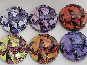Serie-de-6-capsules-LEMAIRE-Dominique-Papillons