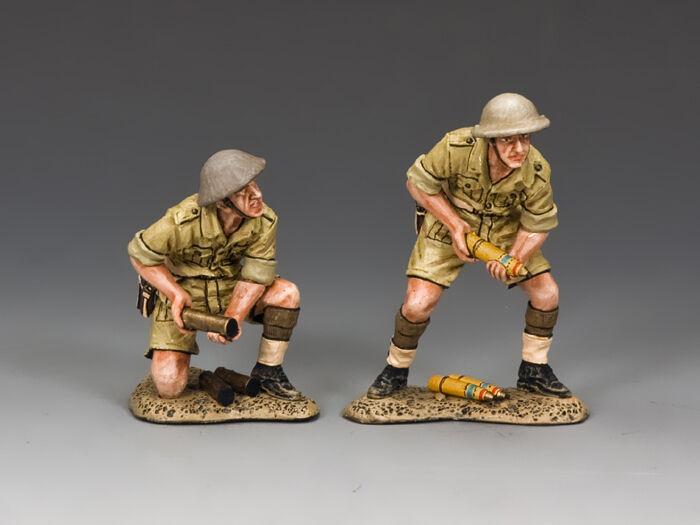 EA091 (BR) 25 Pdr.Gun Crew (Britisch) von King && Country