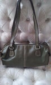 Olive-Green-Small-Casual-Faux-Leather-Satchel-Purse-Tote-Shoulder-Bag-HiddenJuel
