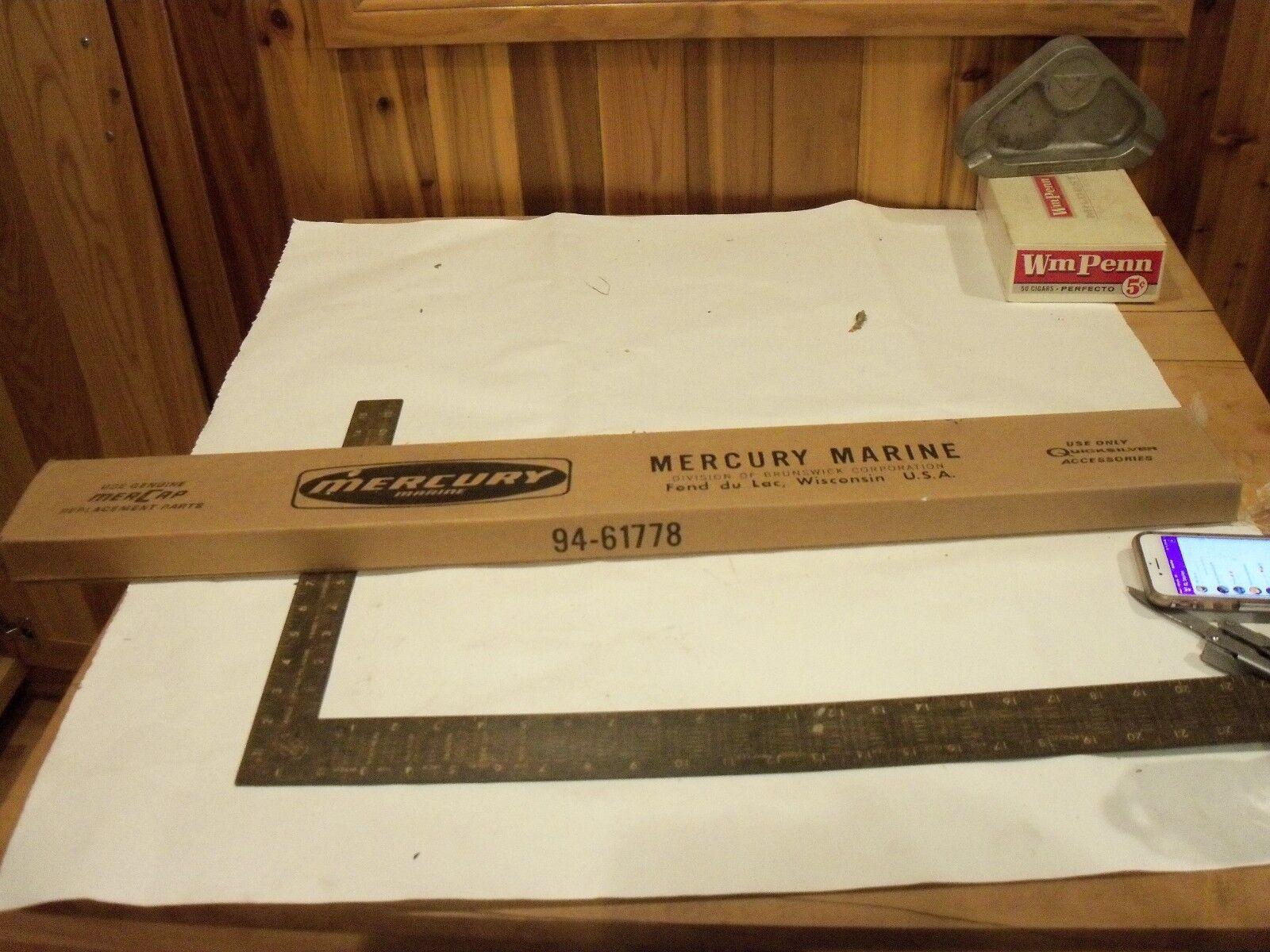 Vintage Mercury snomobile carbide set - 94-61778