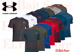 Mens Under Armour Charged Cotton Sport Athletic 1257616 T Shirt Regular Tall