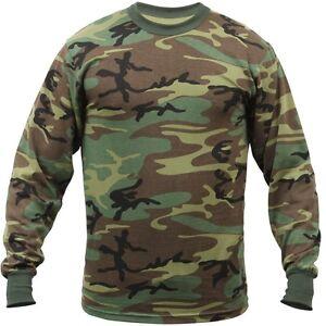Rothco-Woodland-Camo-Camouflage-Long-Sleeve-T-Shirt