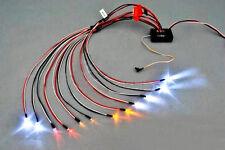 1:10 RC Model Car truck LED Light Kit 12 LED Flashing Head Light Lamp System