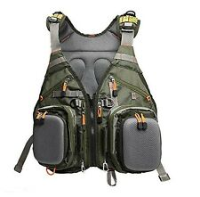 Fly Fishing Backpack Adjustable Size Fly Fishing Vest & Backpack Combined SSA