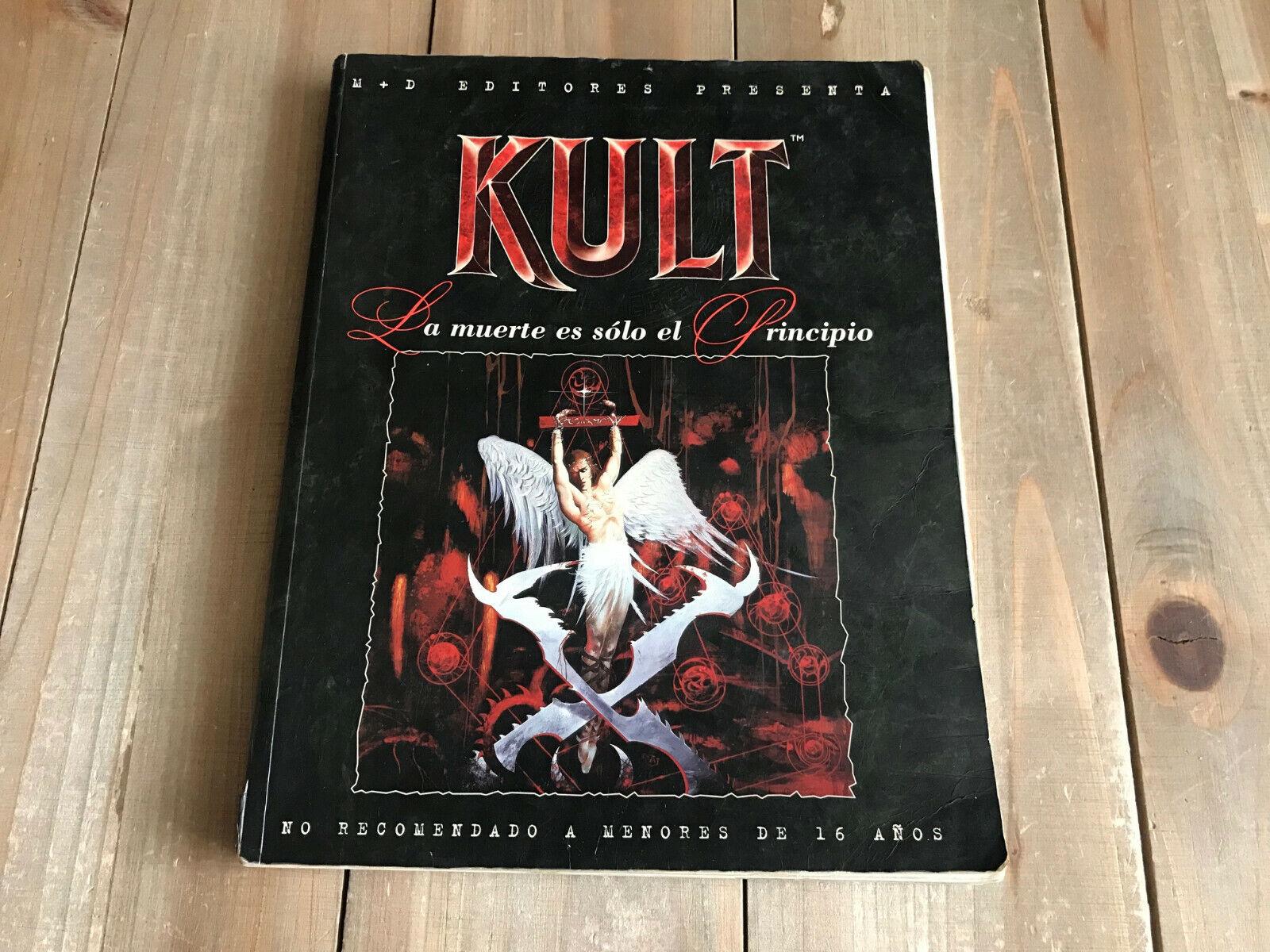 KULT Primera Edición - - - BASICO - juego de rol - M+D Editores 1994 - Ed. Español  Envío y cambio gratis.