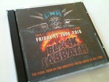 Black Sabbath Double CD Graspop Dessel Belgium THE END TOUR 2016