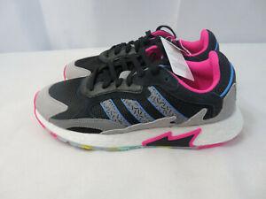 Details about Adidas Originals Tresc Run Boost Men's Running Shoes Black/Pink/Blue EG5023 10