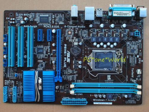 ASUS P8H61 PLUS R2.0 motherboard Socket 1155 DDR3 Intel H61 100/% working