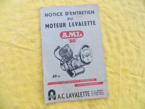 2019 Nouveau Style Moteur Lavalette Aml 50 - Notice D'entretien - Ni Trop Dur Ni Trop Mou